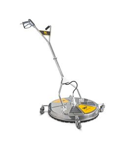 """Hyundai BE Pressure 30"""" Stainless Steel Whirlaway - 5000PSI Flat Surface Cleaner With Castors #85.403.032"""