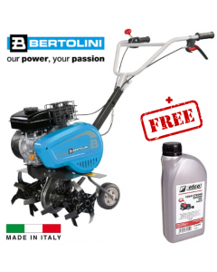 Bertolini Petrol Garden Tiller BT 155 + Free Oil
