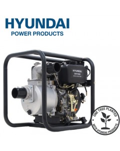 "WATER PUMP - Hyundai 80mm 3"" Electric Start Diesel Water Pump DHY80E"