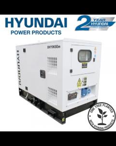 Hyundai 11kVA Single Phase Diesel Generator DHY9KSEm