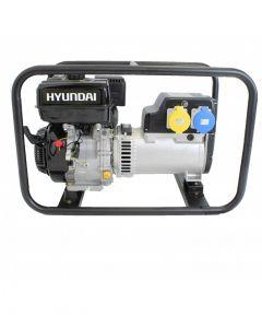 Hyundai HY10000 Hire Pro 8Kw Recoil Start Site Petrol Generator