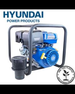 "Hyundai HY100 389cc 13hp Professional Petrol Water Pump - 4""/100mm Outlet"