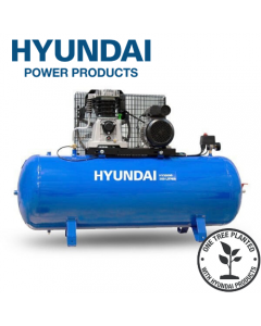 Hyundai HY3200S 3hp 14cfm Electric Belt Drive Air Compressor