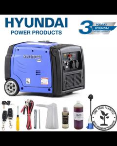 Hyundai 3200W Portable Inverter Generator | HY3200SEi
