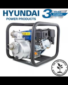 "Hyundai HY50 163cc 5.5hp Professional Petrol Water Pump - 2""/50mm Outlet"