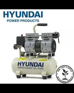 Hyundai HY5508 4CFM, 550w, 0.75HP, 8 Litre Oil Free Direct Drive Silenced Air Compressor