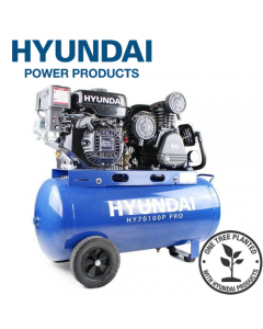 Hyundai HY70100P Petrol Driven Air Compressor
