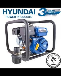 "Hyundai HY80 212cc 6.5hp Professional Petrol Water Pump - 3""/80mm Outlet"