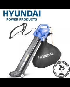 Hyundai HYBV3000E 3-in-1 Electric Garden Vacuum, Leafblower & Mulcher