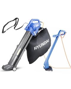 Electric Strimmer and Leaf Blower Bundle Hyundai Trimmer & Blower / Vac | HYTR250E & HYBV3000E