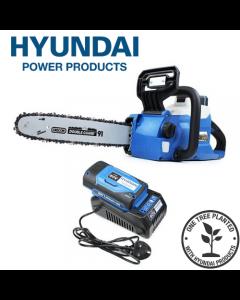 "Hyundai HYC60LI 12"" 60v Lithium-ion Battery Chainsaw With Oregon Bar & Chain"