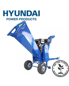 Hyundai HYCH7070E-2 7hp 208cc Electric Start Wood Chipper