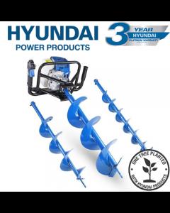 Hyundai HYEA5200X 52cc Petrol Earth Auger, Borer and Drill