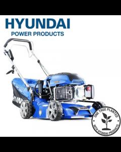"Hyundai HYM430SPE Self Propelled Electric Start 17"" 42 cm / 420mm Petrol Lawnmower"