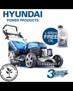 Hyundai HYM510SPE Self Propelled Electric Push Button Start 173cc Petrol Lawn Mower -