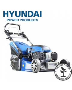 Hyundai HYM530SPER Self Propelled 52.5cm Electric Start 173cc Petrol Roller Lawn Mower