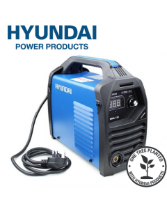 Hyundai HYMMA-120 120Amp MMA/ARC Inverter Welder, 230V Single Phase