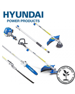 Hyundai HYMT5200X 52cc Petrol Garden Multi Function Tool + Replacement Nylon Grass Trimmer Head