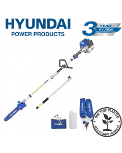 Hyundai HYPS5200X 52cc Long Reach Petrol Pole Saw/Pruner/Chainsaw