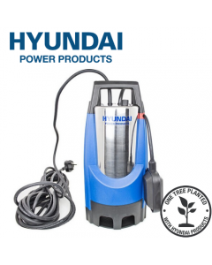 Hyundai HYSP850D 850W Stainless Steel Electric Submersible Dirty Water Pump