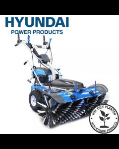 Hyundai Self Propelled Petrol Yard Sweeper Powerbrush 100cm 173cc HYSW1000