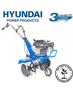 Hyundai HYT150 2.7kW 150cc 4-Stroke Petrol Garden Tiller, Cultivator, Rotovator & Rototiller