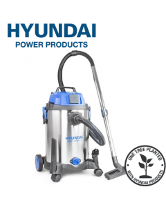 Hyundai HYVI3014 1400W 3 IN 1 Wet & Dry HEPA Filtration Electric Vacuum Cleaner