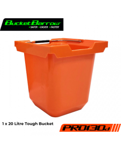 PRO130D Bucket 20 L (1 pc only) - BucketBarrow