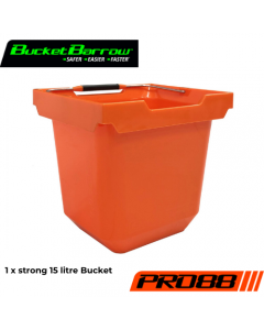 PRO88 Bucket 15L (1 pc only) - BucketBarrow