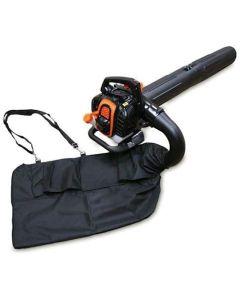 Sherpa Premium Petrol Leaf Blower Vac (Easy Start) 25.4cc + Free Spare Bag
