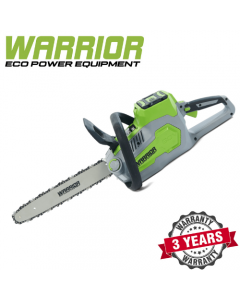 WARRIOR - 60v Warrior Chainsaw with Battery and Charger - WEP8181CS-BC