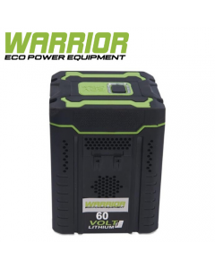 WARRIOR - 60v Warrior 2.5Ah Battery ONLY- WEP8302BP